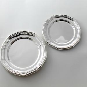 Plato de pan modelo Inglete Doble de plata primera ley