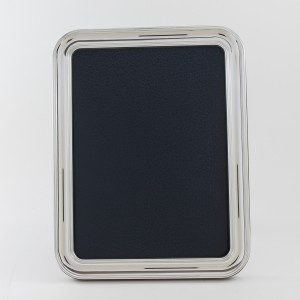 Marco de fotos de plata modelo Valle