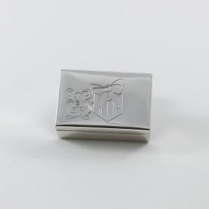 Cajita de plata para los dientes