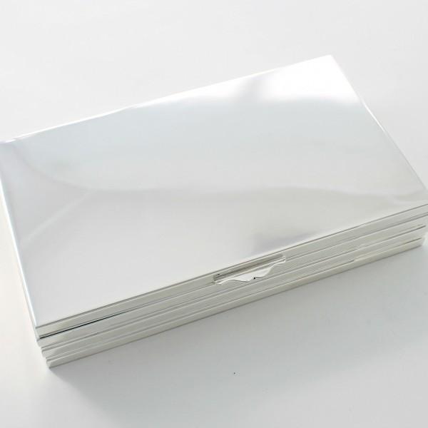 Caja de plata maciza de primera Ley