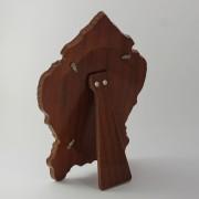 Trasera de madera