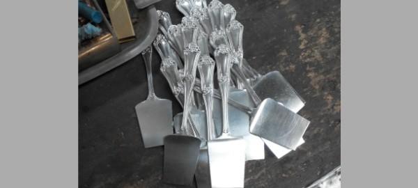 Fabricar una cuberteria de plata