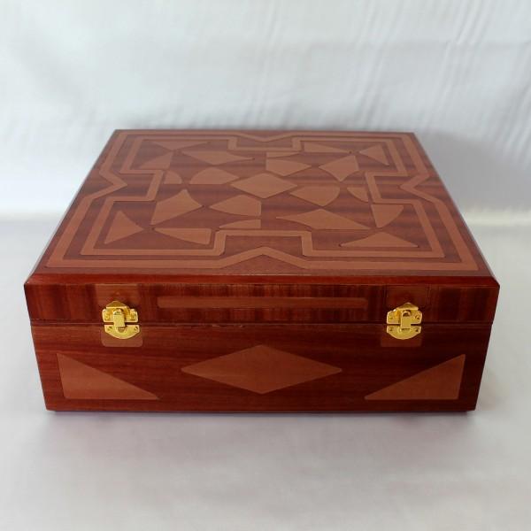 Estuche cubertería de 118,60 y 42 piezas en madera DM