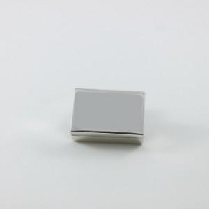 Caja de plata lisa