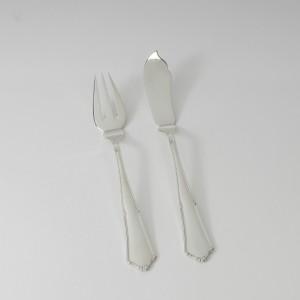 Set cubierto de pescado 2 piezas, tenedor y pala
