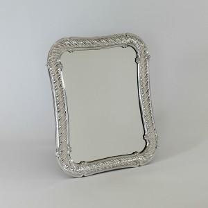 Espejo de mesa de plata Granada