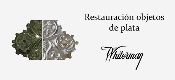 Restauración de objetos de plata
