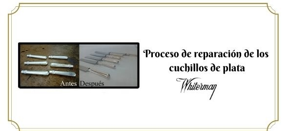 Procesos y técnicas de reparación cubiertos de plata